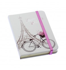 Notebook Eiffel Tower w/ elastic