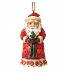Mini Santa Ornament