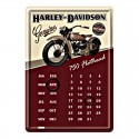 Calendario Harley Davidson