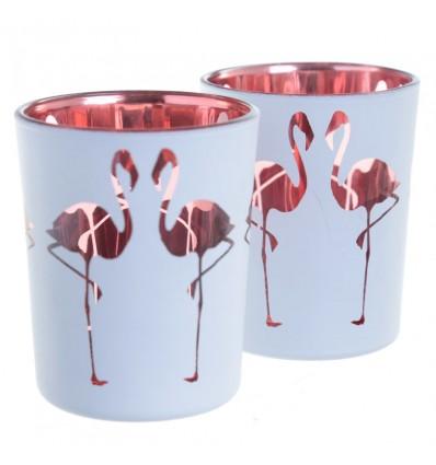 Copos Velas Flamingos