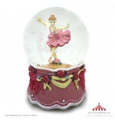 Bola de Neve Bailarina Rosa