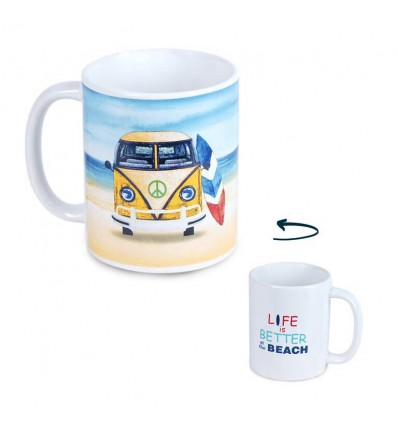 Caneca Surf Life is better
