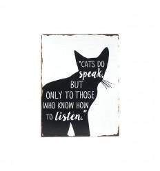 Cats do speak board