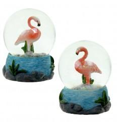 Bola de Neve Flamingo