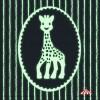 Caixa de Música Luminescente Girafa Sophia (Rosa e Branca)