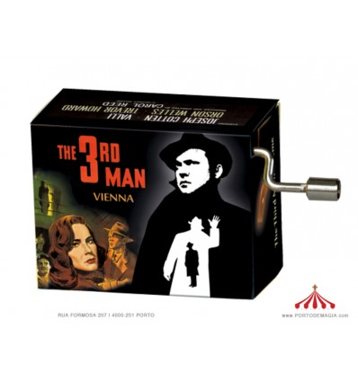 """Caixa Musical """"The Third Man"""""""